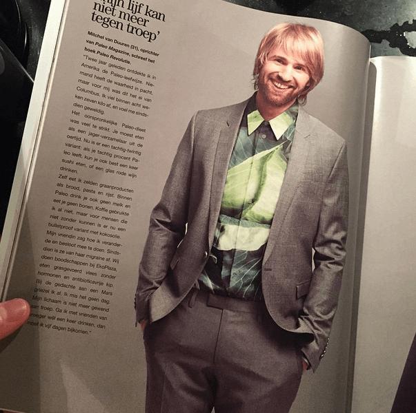 Paleo in het Linda Magazine. Dit heeft zeker autoriteit meegegeven waardoor mijn omzet kon verdubbelen.